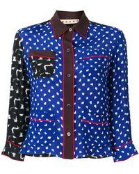 Marni - Multi Panelled Pyjama Shirt - Lyst