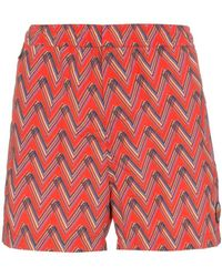 Missoni - Print Swim Shorts - Lyst