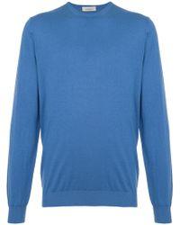 Laneus - Crew Neck Sweater - Lyst