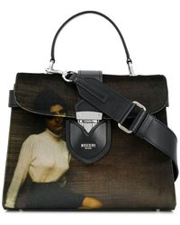 Moschino - Work Of Art Printed Tote - Lyst