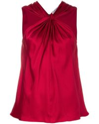 Elizabeth and James - Knotted Front Tank - Lyst