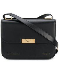 Victoria Beckham - Eva Foldover Shoulder Bag - Lyst