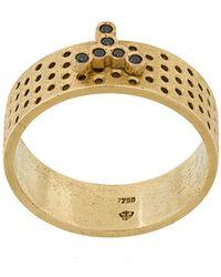 Savoir Joaillerie 18kt rose gold and diamond She Ring - Metallic UWBg4QKUE