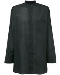 Haider Ackermann - Oversized Shirt - Lyst