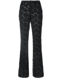 Marni - Floral Quilted Trousers - Lyst