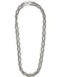 Emanuele Bicocchi - Double Chain Necklace - Lyst