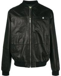 Versace Jeans - Rear Print Bomber Jacket - Lyst