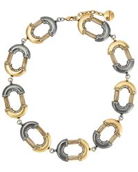 Camila Klein - Bicolour Links Necklace - Lyst