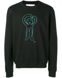 Societe Anonyme - Printed Logo Sweatshirt - Lyst