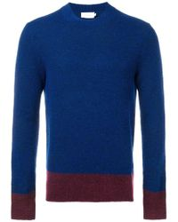 Calvin Klein - Maglione con design color block - Lyst