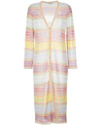 Cecilia Prado - Open Knit Tamara Long Coat - Lyst