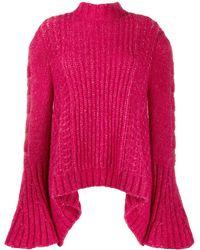 Stella McCartney Bell Sleeved Jumper - Pink