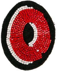 Olympia Le-Tan - Alphabet Patch - Lyst