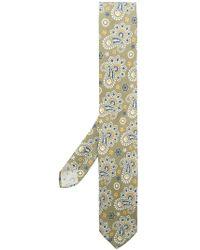 Lardini - Paisley Print Tie - Lyst