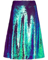 Peter Jensen - Sequin Skirt - Lyst