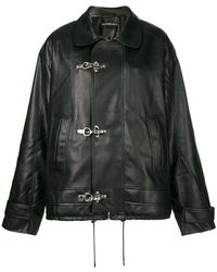 Y. Project - Oversized Clasp Fastened Jacket - Lyst