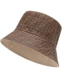 Fendi - Reversible Bucket Hat - Lyst