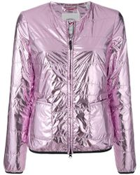 Rossignol - Collarless Laminated Jacket - Lyst