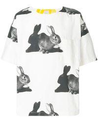 Paul Smith - Rabbit Print T-shirt - Lyst