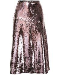 Vivetta - Sequined Midi Skirt - Lyst