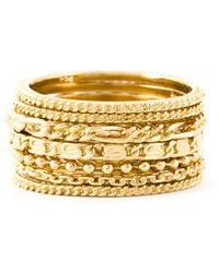 Wouters & Hendrix - Set Of Seven Rings - Lyst