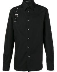 Alexander McQueen - Buckle Detail Shirt - Lyst