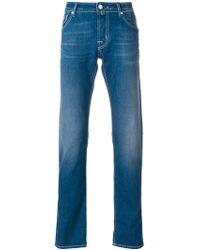 Jacob Cohen - Faded Slim Fit Jeans - Lyst