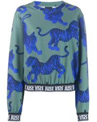 Just Cavalli - Tiger Pattern Sweatshirt - Lyst