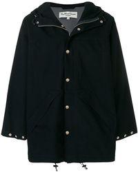 YMC - Hooded Parka Coat - Lyst