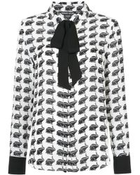 Thomas Wylde - Printed Blouse - Lyst