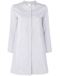 Max Mara - Striped Tunic Shirt - Lyst