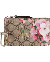 Gucci - GG Blooms Key Case - Lyst