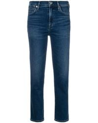 Citizens of Humanity - Cara Cigarette Ankle Jeans - Lyst
