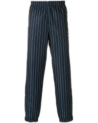 Andrea Crews - Striped Track Trousers - Lyst