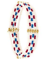 Isabel Marant | Stranded Bead Bracelet | Lyst