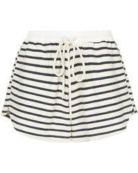Bassike - Striped Shorts - Lyst