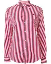 3c46e3e5dd3 Lyst - Chemises Polo Ralph Lauren femme à partir de 39 €