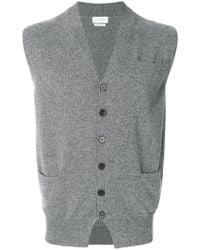 Ballantyne - V-neck Knitted Gilet - Lyst