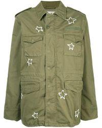 Tu Es Mon Tresor - M65 Ribbon-embroidered Field Jacket - Lyst