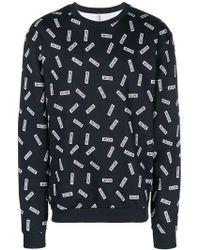 Moschino - Multiple Logo Sweatshirt - Lyst