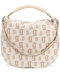 John Galliano - Monogram Shoulder Bag - Lyst