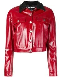 Pinko - Contrasting Collar Jacket - Lyst