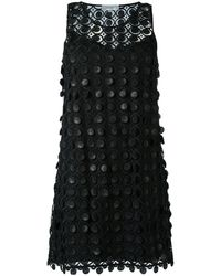 Carven - Embroidered Lace Dress - Lyst