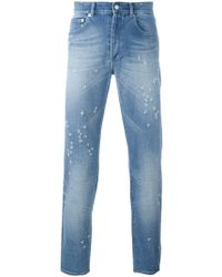 Givenchy | Distressed Slim Fit Jeans | Lyst