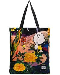 Herschel Supply Co. - Multicoloured Charlie Brown Floral Print Tote - Lyst