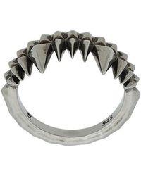 Kasun - Crocodile Bite Ring - Lyst