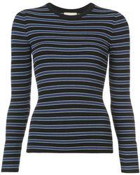 Michael Kors - Multi-stripe Jersey Top - Lyst