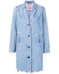 Levi's - Oversized Button Jacket - Lyst