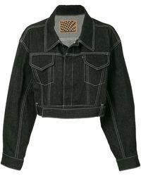 G.v.g.v - Contrast Stitch Jacket - Lyst