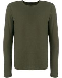 Roberto Collina - Long Sleeved Sweatshirt - Lyst